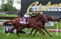 Channel Cat gives Velazquez another G1 win in Man o' War
