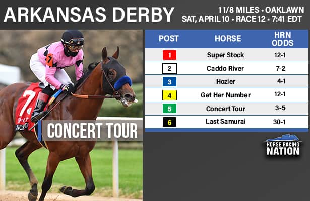 Arkansas Derby odds and analysis: A case for Hozier