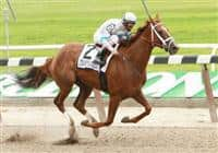 06 12 2010: Life At Ten with John Velazquez win the 42nd running of the Grade 1 Ogden Phipps, at 1 1/16 mile, for F&M, 3-year old & up, Belmont Park. Trainer Todd Pletcher. Owner Cynthia DeBartolo
