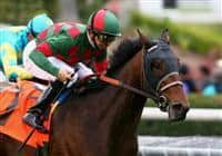 06 March 2010: Make Music For Me and Mike Smith win the Pasadena Stakes at Santa Anita Park in Arcadia, CA..