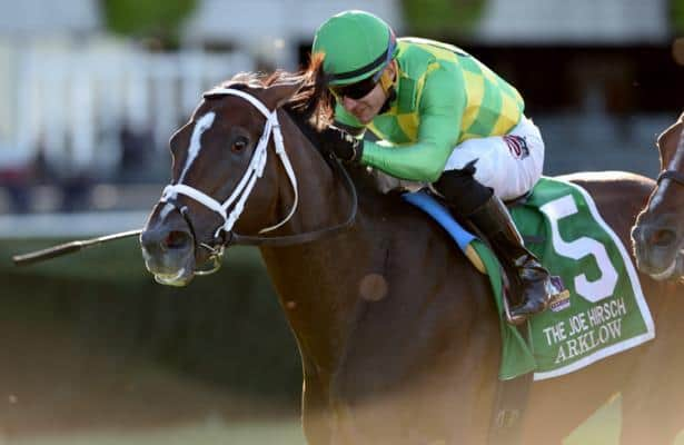 Arklow parlays a perfect trip to win in Hollywood Turf Cup