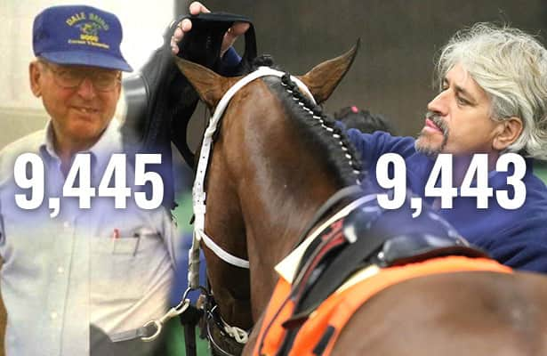 2 from record, Asmussen starts 1 more Wednesday at Spa