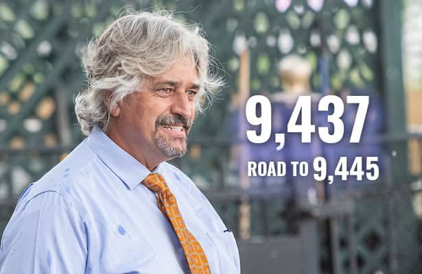 Asmussen starts 4 Friday, now 8 wins from record