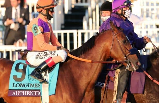 Authentic, Monomoy Girl lead Eclipse Awards finalists