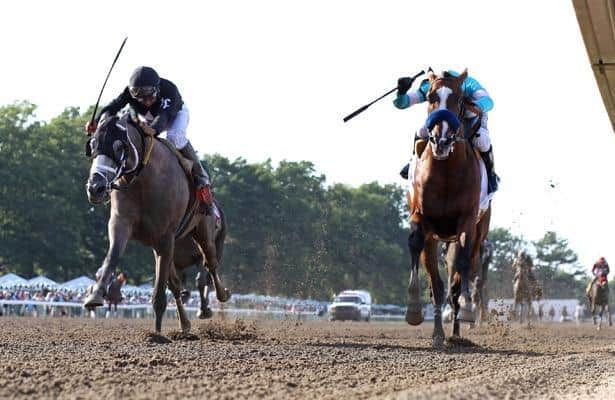 Authentic edges Ny Traffic to win 2020 Haskell Stakes