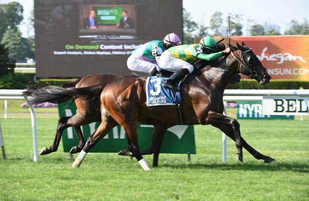 Ballagh Rocks prevails in Saratoga's Lure Stakes
