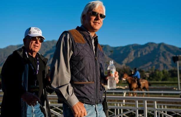 Bezos is entered for debut on Sunday at Santa Anita
