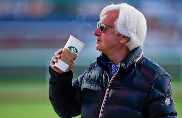Baffert is impressed with a Ky. Derby hopeful that is not his
