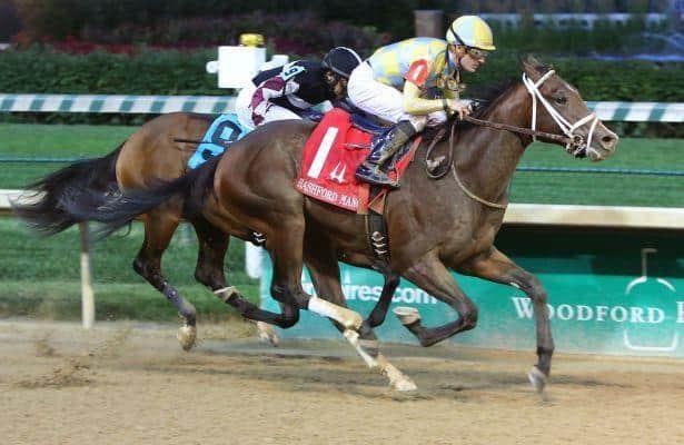 Stakes winners Classic Empire and Bitumen clash in Breeders' Futurity