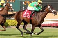 Cowboy Culture wins 2017 Centaur Stakes