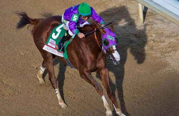 California Chrome is the new Horse of the Year favorite