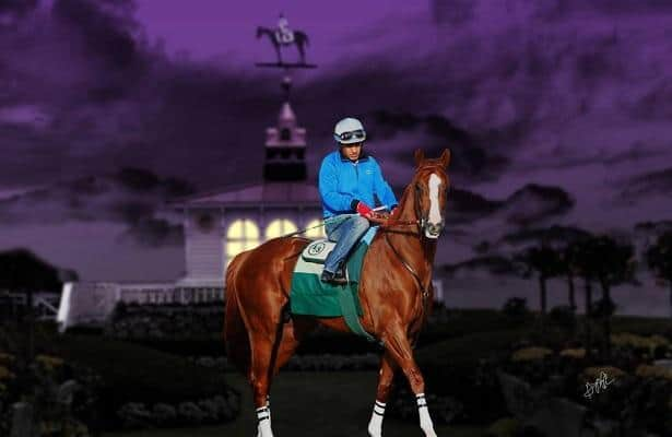 California Chrome sires first North American winner with Cilla