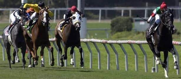 Japanese import Cesario wins American Oaks