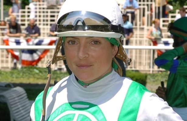 Chantal Sutherland returns to riding at Gulfstream