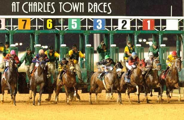Charles Town handle per race hit a record high in 2020