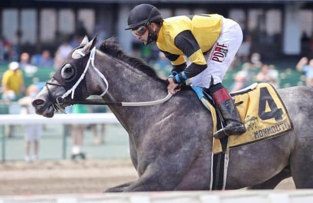 County Final takes Monmouth's Tyro Stakes in debut for Asmussen