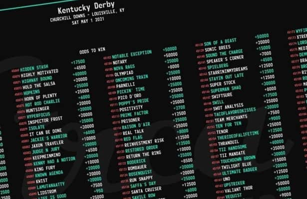 See how short Vegas odds are for top Kentucky Derby hopes