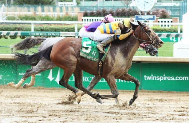 Locust Grove First Stakes Victory for Engaginglee
