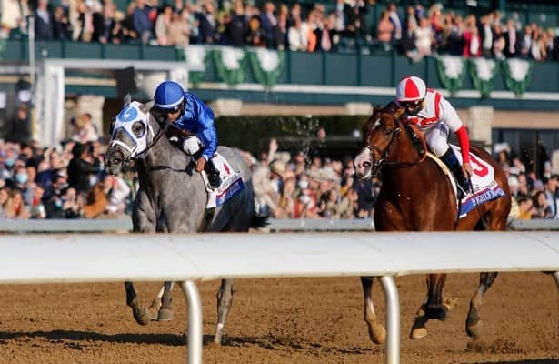 Brown has a case with Highly Motivated in Kentucky Derby