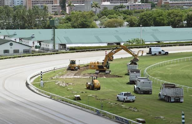 Gulfstream begins installation of Tapeta track