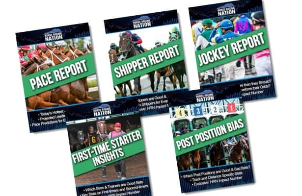 NEW: HRN launches Pro Reports handicapping products