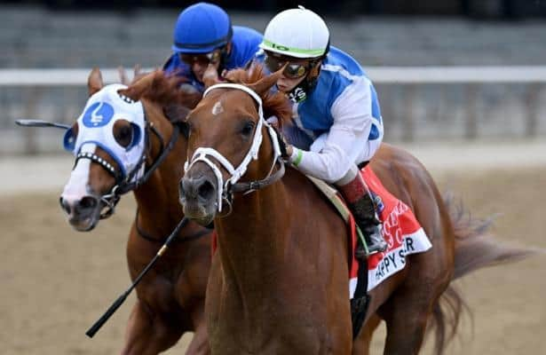 Could unbeaten 4-year-old and Mystic Guide clash at Belmont?