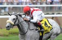 Hard Not to Like wins 2015 Diana Stakes
