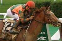 June 27 2015: Include Betty with Drayden Van Dyke win the$300,000 Grade I Mother Goose Stakes for 3-year old fillies, going 1 1/16 miile at Belmont Park. Trainer Thomas Proctor. Owner Brereton Jones & Timothy Thornton. Sue Kawczynski/ESW/CSM