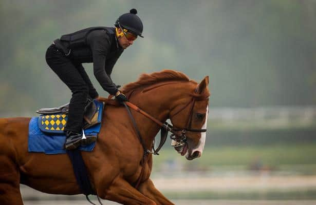 Del Mar news: Justify's half brother points to Pacific Classic 2018