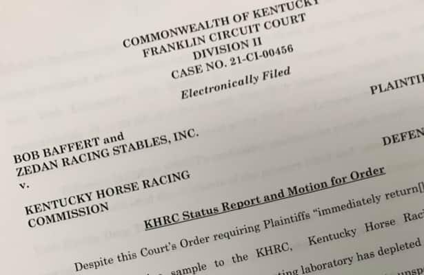 Kentucky commission says lab used up Medina's urine sample