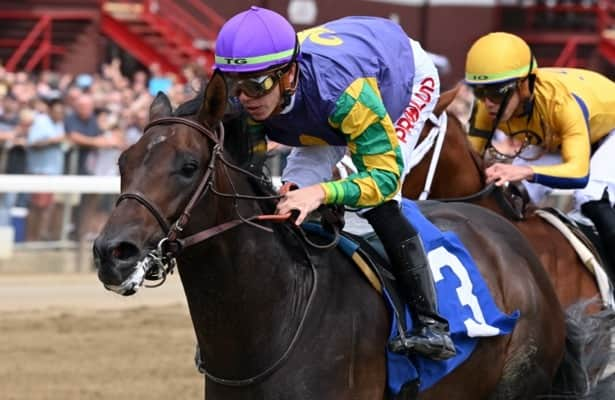 Barn Tour: Amoss talks Saratoga debut winners, other 2-year-olds