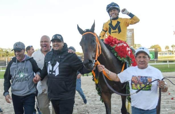 For MLB All Star Martinez, racing King Guillermo is personal