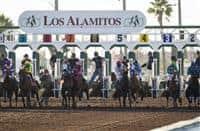 Los Alamitos starting gate (12-12-15)