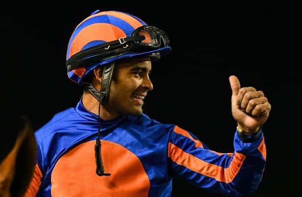Who does Luis Sáez credit for his rise to the top at Saratoga?