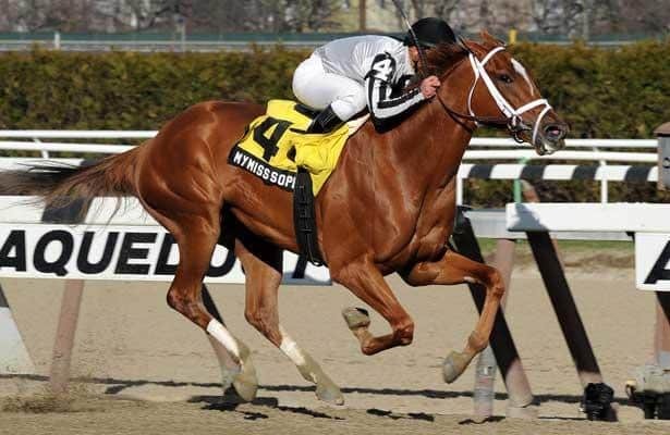 Doubledogdare: A great filly who loved Keeneland