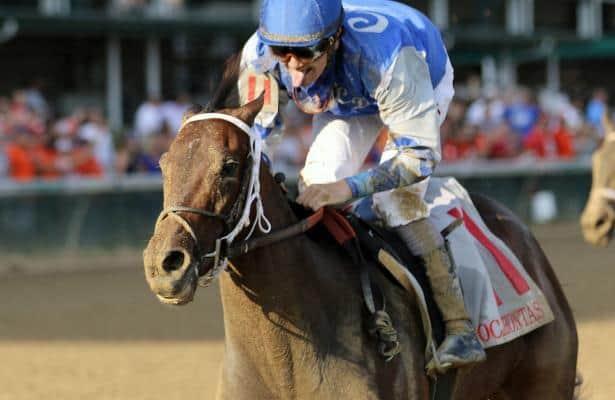 Brian Hernandez, Jr. overcomes fall to earn Jockey of the Week