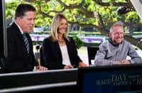 Perry Ouzts joins Race Day America as he makes his first career start at Santa Anita
