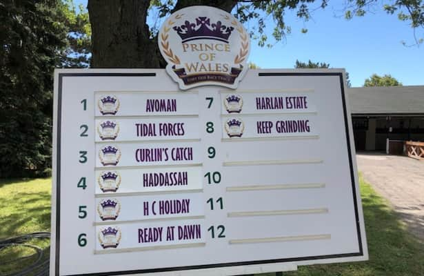 Field of 8 is set for 2nd jewel of Canadian Triple Crown