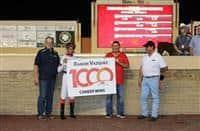Ramon Vazquez reaches 1000 career wins at Remington Park (10-5-17)