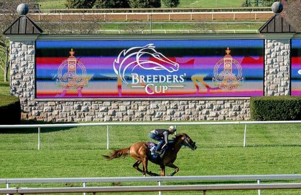 Logo revealed for Breeders' Cup return to Keeneland in '22