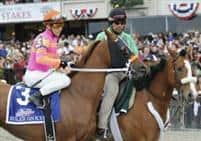 Ruler on Ice before the Belmont