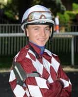 Jockey Ryan Curatolo.