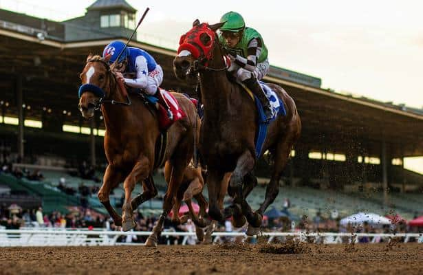 Calif. threatens to take half of jockeys' pay for misusing crops