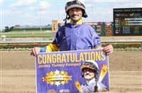 Tommy Pompell wins 2500th race at Indiana Grand (9-29-17)