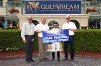 Todd Pletcher wins 4,000th career race at GP (3-18-16)