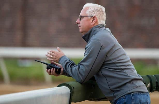 Moved from Baffert to Pletcher, Following Sea to race Thursday