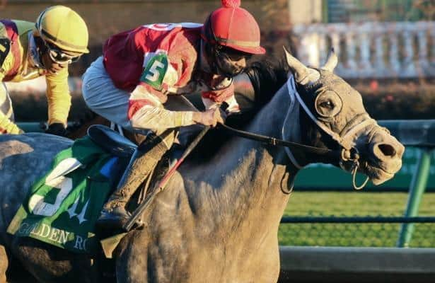 Frosted filly Travel Column looks worth her high purchase price
