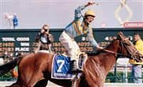 Unbridled wins the 1990 Derby