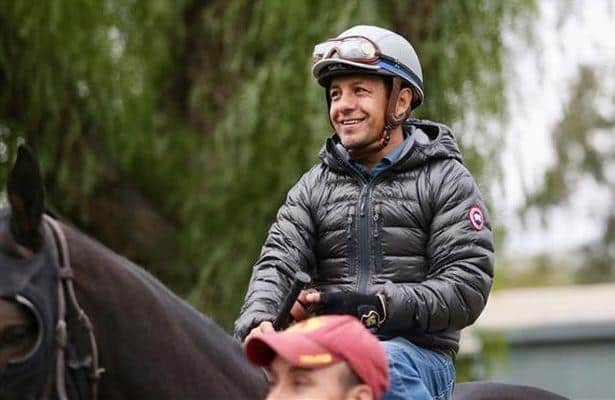 'Back to riding': Espinoza looks to pick up more mounts