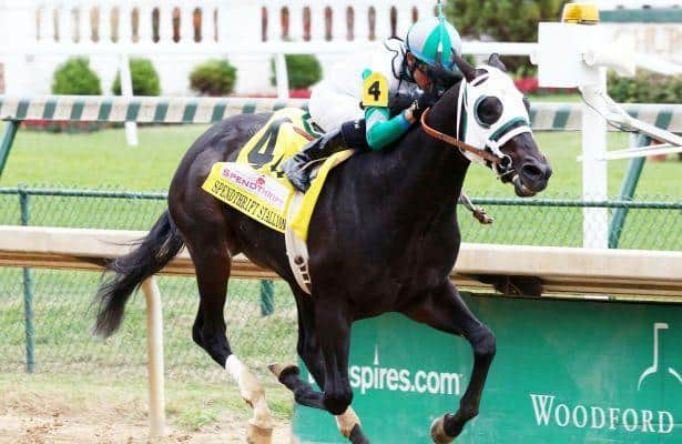 Warrior's Club makes all the running in Spendthrift Stallion Stakes